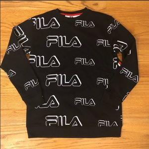 FILA logo crew